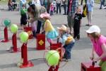 Peter in de ballonnen wedstrijd