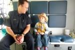 Uitleg in de ambulance