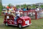 Een mini brandweer auto