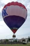 De hete lucht ballon
