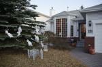 Het versierde huis