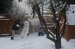 Sneeuwgevecht!