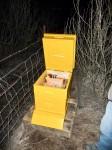 Een bijenkorf cache